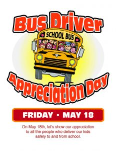 Bus driver appreciation poster 2018