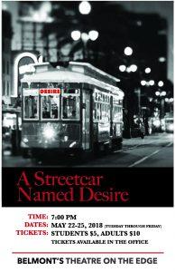 Streetcar run poster