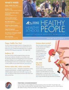 Healthy Schools Newsletter – Jan. 2019